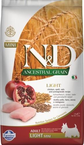N&D Ancestral Dog Chicken & Pomegranate Light Mini
